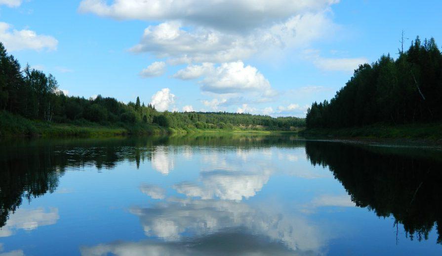Река Вымь. Наши дни