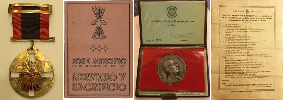 """Некоторые из испанских артефактов """"Маленьких историй"""""""