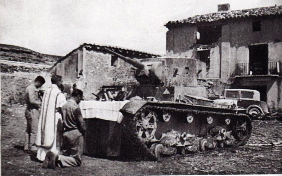 Советский Т-26 в Испании
