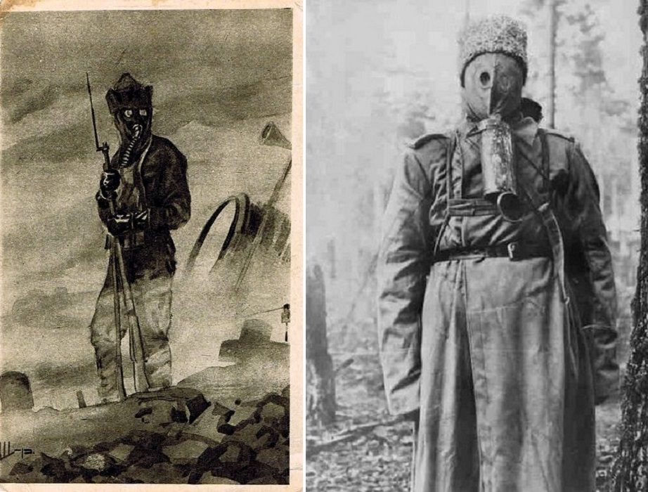 """Артефакт из коллекции """"Маленьких историй"""". Типичная картина для Первой Мировой войны"""