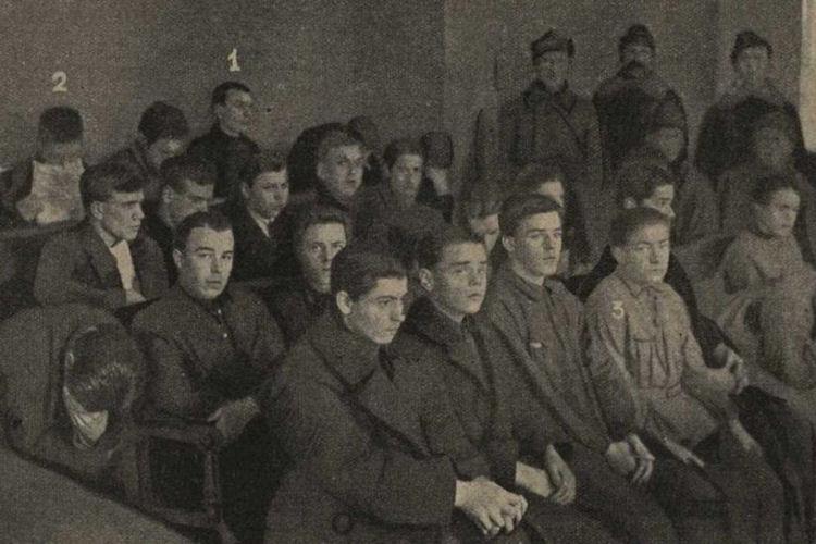 Обвиняемые по Чубаровскому делу. 1927 год