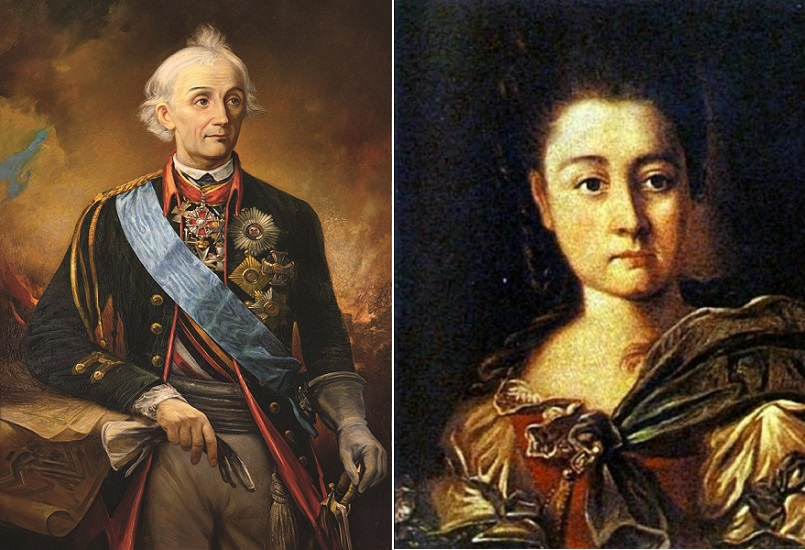 Покорившему Альпы Суворову развод с неверной супругой оказался не под силу