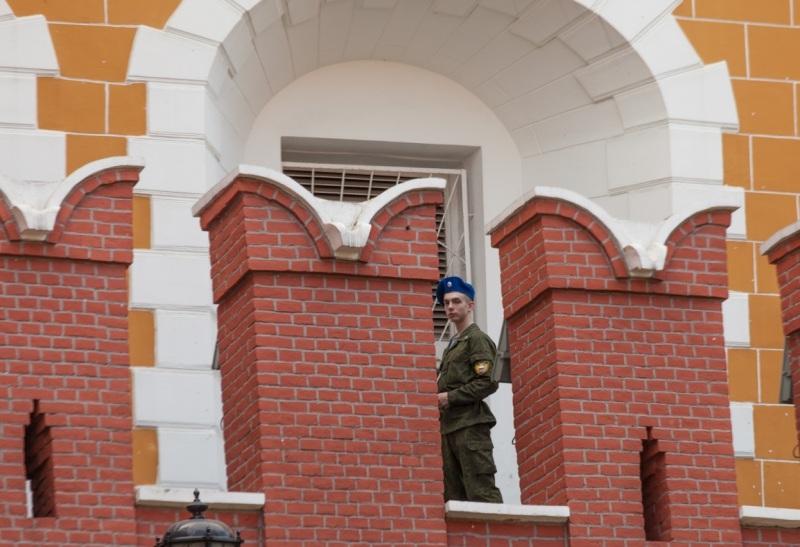 """Кремлевский мерлон в форме """"ласточкиного хвоста"""""""