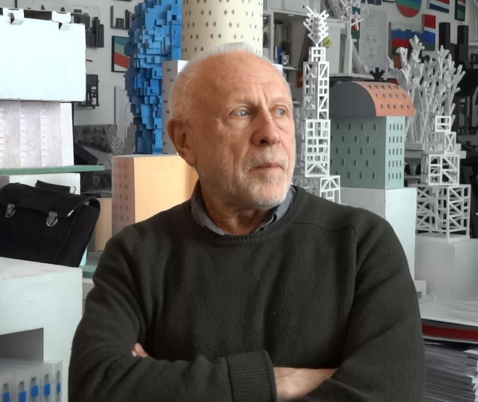 Художник и скульптор Игорь Шелковский