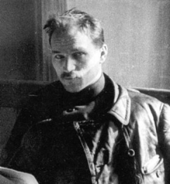 Прижизненное фото Фёдора Сергеева, послужившее основой для портрета