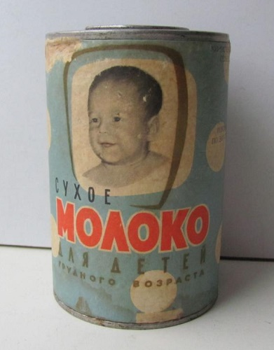 Баночное сухое молоко от Невельского завода других выпусков