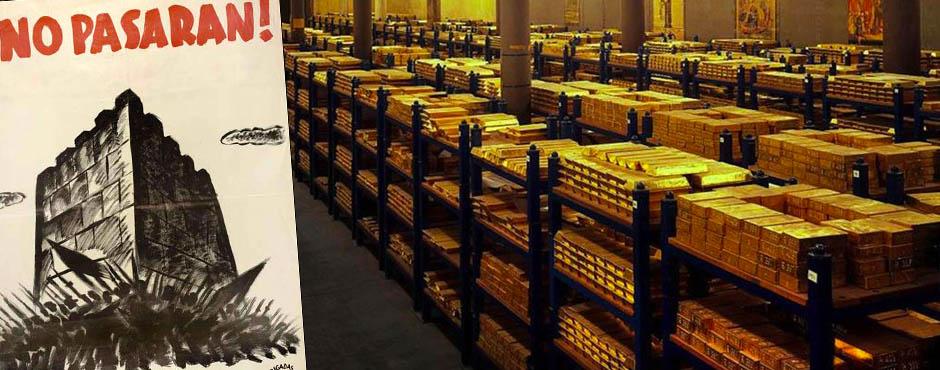 Негрин золото испания