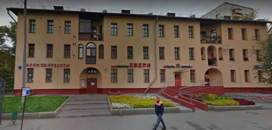 Комплекс жилых домов на Русаковской улице 7 - едва ли не единственный московский проект Б.Иофана до начала строительства Дома СНК (Дом Правительства)