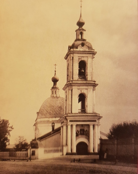 Храм до реконструкции 1892 года