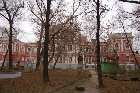 Загородный дворец Елизаветы Петровны (НИИ Реставрации)