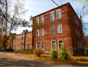 Дома для рабочих, построенные в 1930-х годах.
