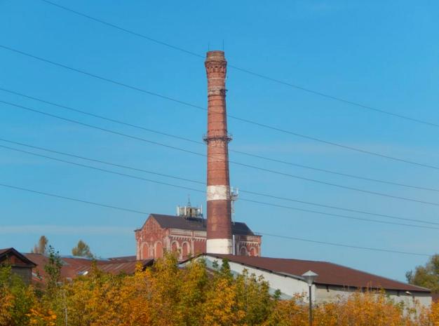 Фабрика в наши дни
