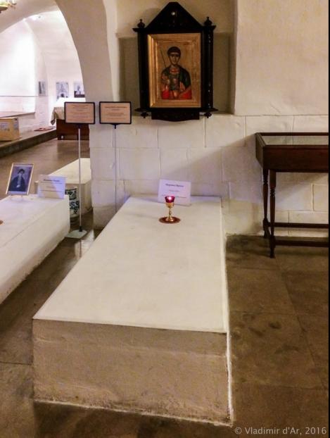 Усыпальница Ирины Михайловны в Новоспасском монастыре