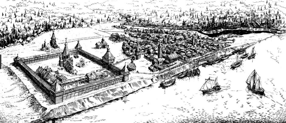 Мангазея - реконструкция