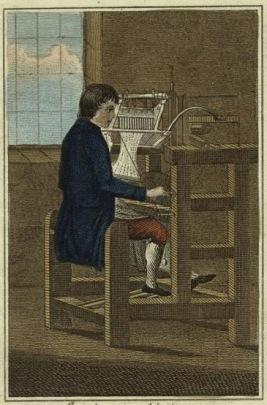 Вязание чулка