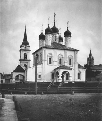 Церковь Владимира в Старых садах, начало ХХ века