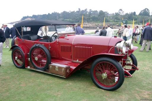 Автомобиль BENZ образца 1913 года. На таком отправился в автопробег Н.Н.Шерупенков.