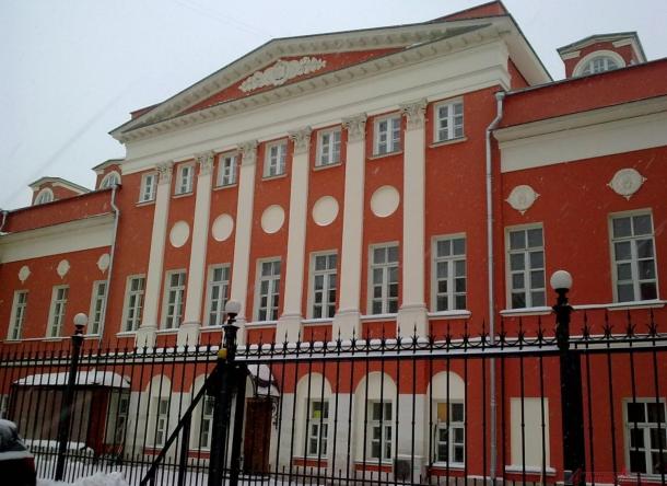 Здание бывшей усадьбы Мельгунова-Волконской в Сыромятниках.