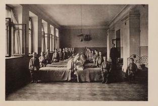 Спальное помещение Беклемишевского приюта