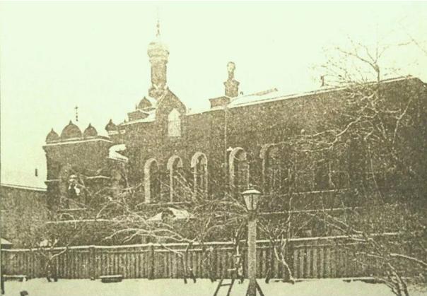 Храм Николая Чудотворца при учреждениях Вспомогательного общества купеческих приказчиков в Москве