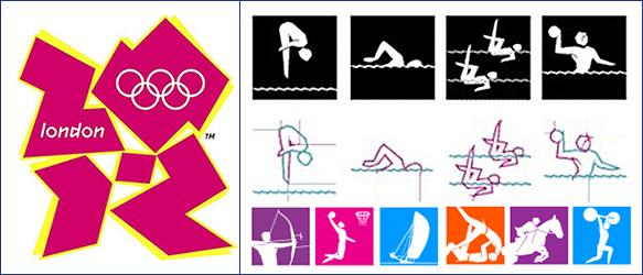 пиктограммы олимпиады в Лондоне 2012
